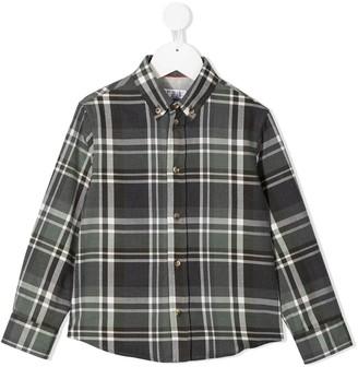 BRUNELLO CUCINELLI KIDS Plaid-Print Button-Down Shirt