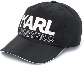Karl Lagerfeld Paris logo cap