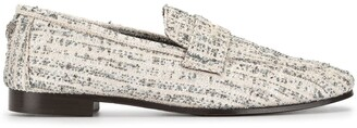 Bougeotte Flat Tweed Loafers