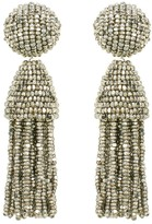 Oscar de la Renta Classic Short Tassel Earrings