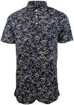 Michael Kors Men's Palm Print Polo Shirt-M-L