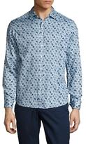 Etro Cotton Paisley Sportshirt