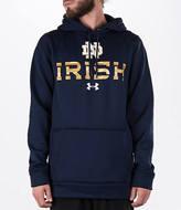 Under Armour Men's Notre Dame Fighting Irish College Poly Fleece Hoodie