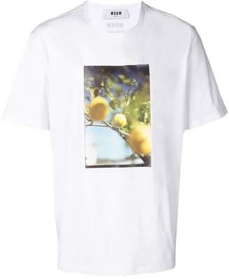 MSGM lemon print T-shirt