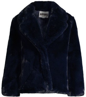 Apparis Manon Oversized Faux-Fur Coat