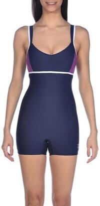 Arena Venus Printed Low-Leg Pool Swimsuit
