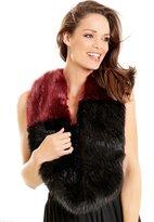 M&Co Luxe faux fur snood