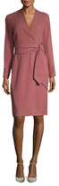 Max Mara Svedese Silk Wrap Dress