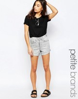 Waven Petite Inga Denim Shorts