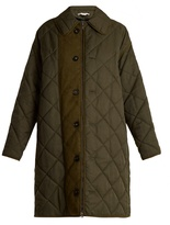 Stella McCartney Hazel oversized quilted coat