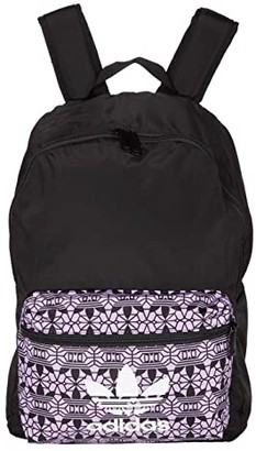 adidas Graphic Backpack (Black/Graphic) Backpack Bags