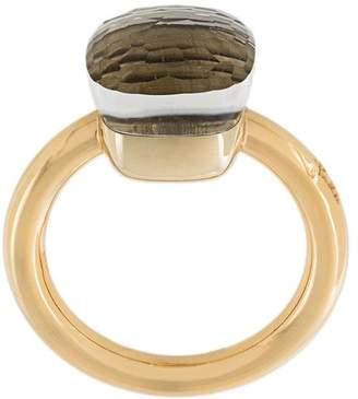 Pomellato 18kt rose gold topaz stone Nudo ring