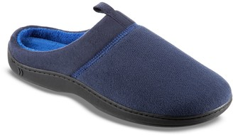 Isotoner Jared Men's Microterry Hoodback Slippers