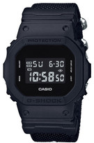 G-Shock Dig Blk Out Series Square, Alarm