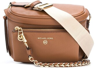 MICHAEL Michael Kors Slater pebbled shoulder bag