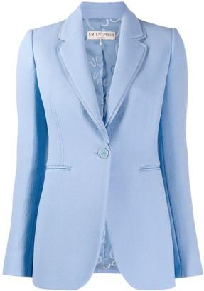 Emilio Pucci double lapel tailored blazer