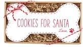 Mud Pie Cookies For Santa Plate