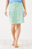 J. Jill Printed Easy Knit Skirt