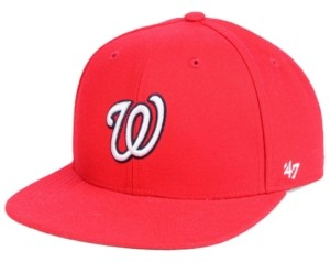 '47 Boys' Washington Nationals Basic Snapback Cap