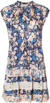 Rebecca Taylor floral print dress - women - Viscose/Silk - 0