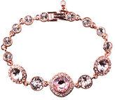 Givenchy Rose Gold and Vintage Rose Swarovski Crystal Flex Bracelet