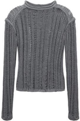 Rick Owens Open-knit Silk Sweater