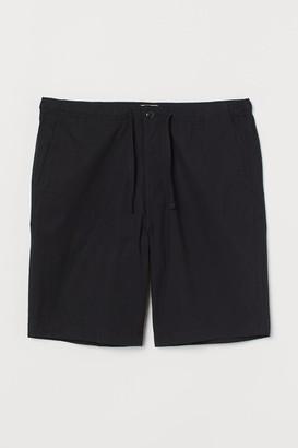 H&M Cotton Shorts - Black