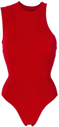 Haight Knitted Asymmetric Bodysuit