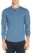 Original Penguin Men's Slub Feeder Stripe Henley