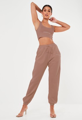 Missguided Rose Oversized 90'S Joggers