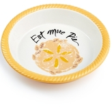 Martha Stewart Collection Eat More Pie Plate, Created for Macy's