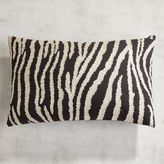 Pier 1 Imports Explorer's Society Zebra Stripes Pillow