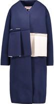 Marni Ruffled neoprene jacket