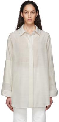 Jacquemus Off-White La Chemise Loya Shirt