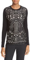Ted Baker Women's Anlise Lace Front Sweater