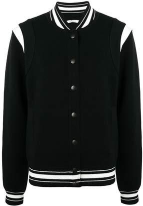 Givenchy logo bomber jacket