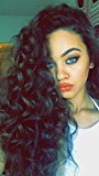 Echo Beauty Peruvian Virgin Human Hair Lace Front Wigs Glueless Loose Curly Human Hair Wigs with Baby Hair for Black Women 12inch