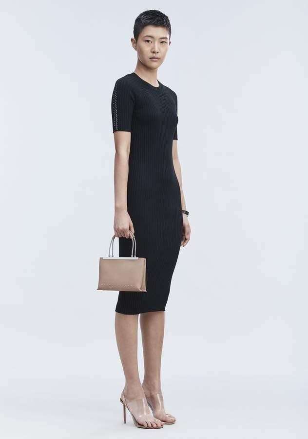 Alexander Wang PIERCED TEE DRESS 3/4 Length Dress