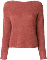 Forte Forte scoop neck knit pullover