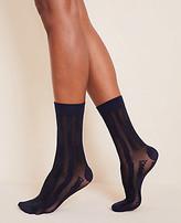 Ann Taylor Chain Trouser Socks
