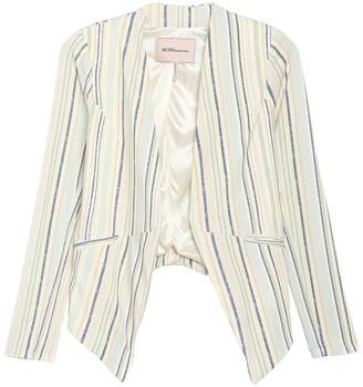 BCBGeneration Stripe Print Tuxedo Blazer Jacket