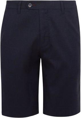 Ted Baker Corto Semi Plain Cotton Shorts