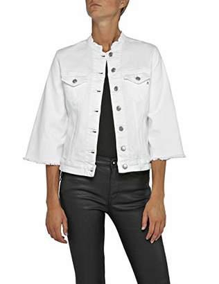 Replay Women's W7408 .000.8064101 Denim Jacket, White 1, X-Small