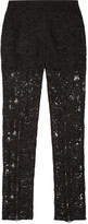McQ by Alexander McQueen Lace straight-leg pants