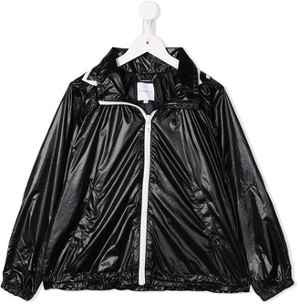 Givenchy Kids hooded zipped jacket