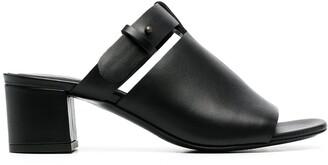 Del Carlo Open-Toe Mule Sandals