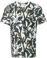 Yoshio Kubo Yoshiokubo dry leaf printed shirt