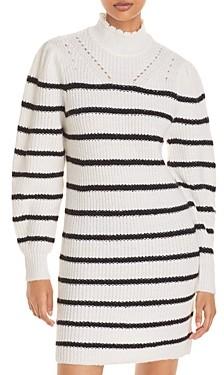 Aqua Striped Sweater Dress - 100% Exclusive