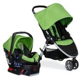 Britax B-Agile/B-Safe 35 Travel System Stroller in Green