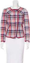 Etoile Isabel Marant Quilted Plaid Jacket w/ Tags